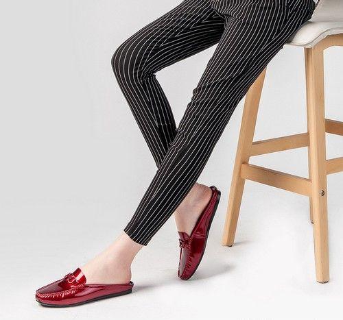 漆皮平底懒人鞋第1张