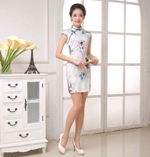 显瘦修身旗袍第1张