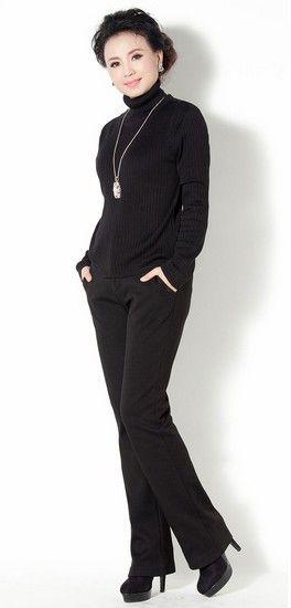 冬装新款修身女士裤子第1张