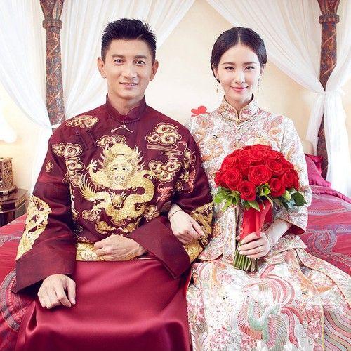 中式旗袍礼服第1张