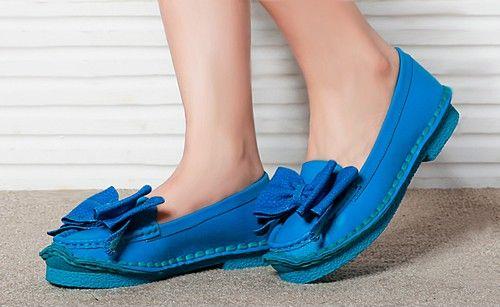 蝴蝶结浅口平底鞋第6张