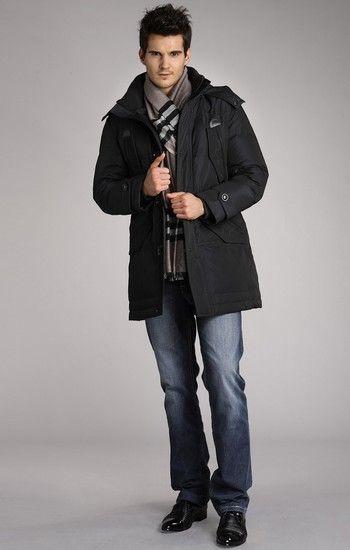 北极绒中老年加厚羽绒服第1张
