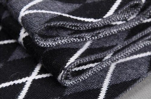 羊毛羊绒男士围巾第1张