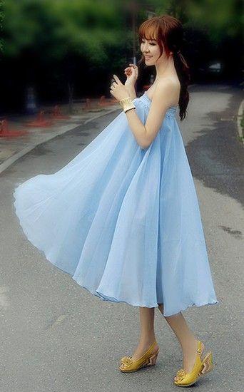 波西米亚雪纺裙第5张