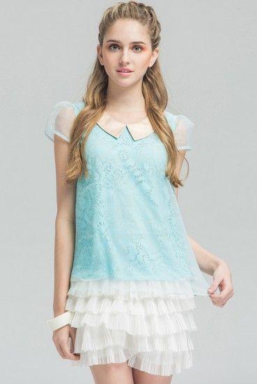 层叠雪纺蛋糕裙裤第2张