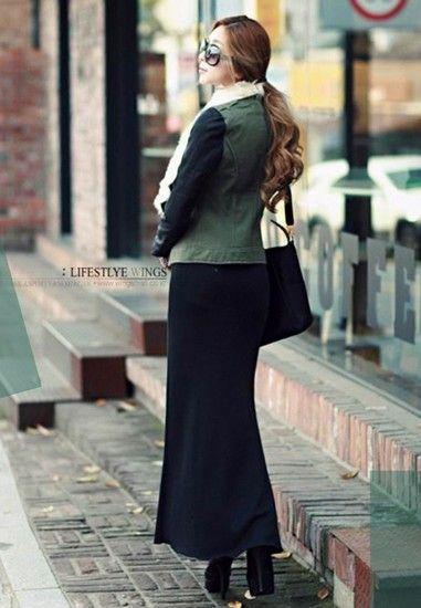 欧美修身长裙第3张