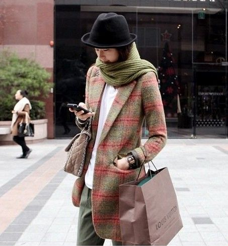 中长款羊毛毛呢西装外套第1张