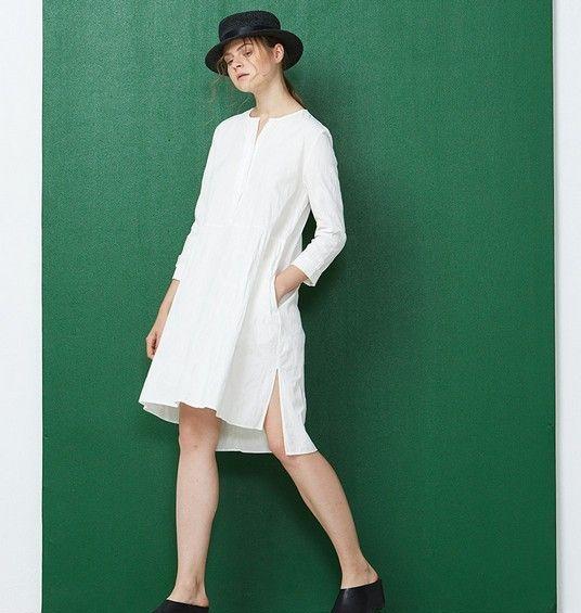 宽松棉质衬衫裙第11张