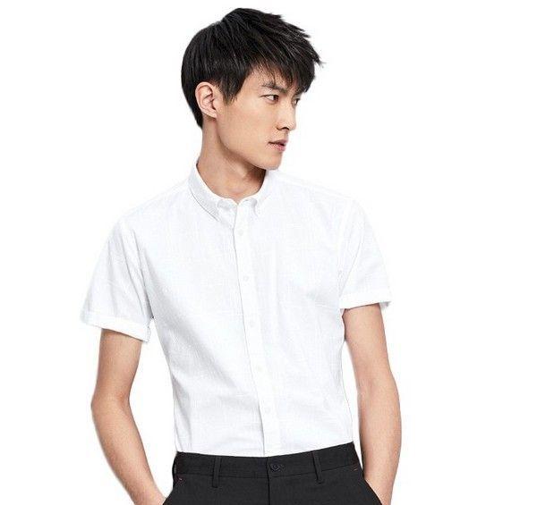 海澜之家 几何线条短袖衬衫第1张