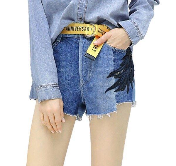 COCOBELLA牛仔短裤第1张