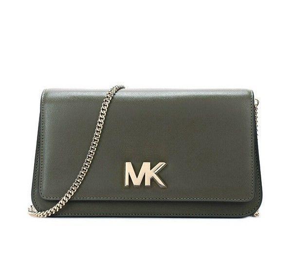 MK MOTT系列牛皮单肩包第1张