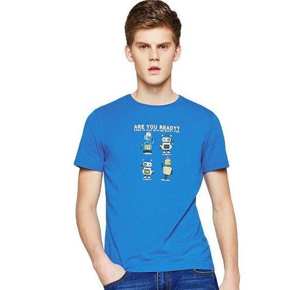 A21 卡通印花短袖圆领T恤第1张