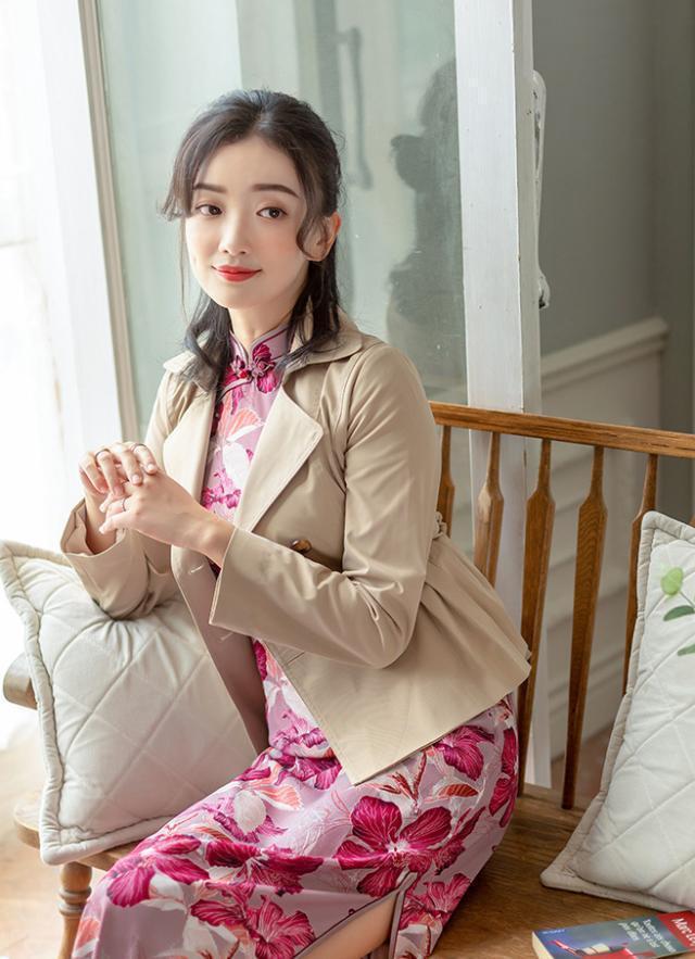 40岁女人穿旗袍,这4种搭配知性高级